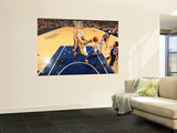 Los Angeles Lakers v Indiana Pacers: T. J. Ford and Steve Blake Wall Mural by Ron Hoskins