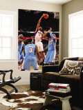 Denver Nuggets v Phoenix Suns: Josh Childress and Carmelo Anthony Wall Mural by Barry Gossage