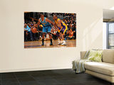New Orleans Hornets v Los Angeles Lakers - Game Two, Los Angeles, CA - April 20: Chris Paul and Kob Wall Mural