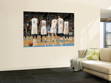 Oklahoma City Thunder v Denver Nuggets - Game Three, Denver, CO - APRIL 23: J.R. Smith, Raymond Fel Wall Mural by Doug Pensinger