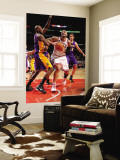 Los Angeles Lakers v Chicago Bulls: Carlos Boozer, Lamar Odom and Pau Gasol Wall Mural by Andrew Bernstein