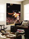 Charlotte Bobcats v Miami Heat: Dwyane Wade and Sherron Collins Wall Mural by Victor Baldizon