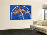 Cleveland Cavaliers v Orlando Magic: Leon Powe, Marcin Gortat and Quentin Richardson Wall Mural by Fernando Medina