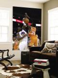 Phoenix Suns v Golden State Warriors: Jeff Adrien and Hakim Warrick Wall Mural by Ezra Shaw