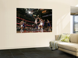 New York Knicks v Cleveland Cavaliers: Antawn Jamison and Wilson Chandler Wall Mural by David Liam Kyle