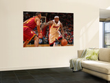 Cleveland Cavaliers  v Miami Heat: LeBron James Wall Mural by Victor Baldizon