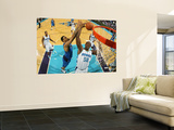 Dallas Mavericks v New Orleans Hornets: Tyson Chandler and Emeka Okafor Wall Mural by Chris Graythen
