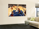 Cleveland Cavaliers  v Indiana Pacers: Brandon Rush and Ramon Sessions Wall Mural by Ron Hoskins