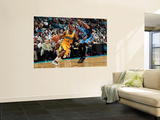 Oklahoma City Thunder v New Orleans Hornets: Chris Paul and Kevin Durant Wall Mural by Chris Unknown