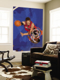 New Jersey Nets v Los Angeles Clippers: Brook Lopez and Rasual Butler Wall Mural by Noah Graham
