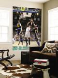 Oklahoma City Thunder v Utah Jazz: Kevin Durant, Jeremy Evans and Al Jefferson Wall Mural by Melissa Majchrzak