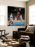 Chicago Bulls v Dallas Mavericks: Ronnie Brewer, Dirk Nowitzki and Brendan Haywood Wall Mural by Danny Bollinger