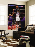 Sacramento Kings v Los Angeles Clippers: Rasual Butler and Francisco Garcia Wall Mural by Noah Graham