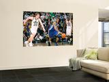 Golden State Warriors v Utah Jazz: Monta Ellis and Gordon Hayward Wall Mural by Melissa Majchrzak