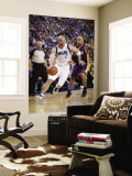 Los Angeles Lakers v Dallas Mavericks - Game Four, Dallas, TX - MAY 8: Jason Kidd and Derek Fisher Wall Mural by Glenn James
