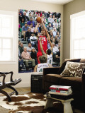 New Jersey Nets v Utah Jazz: Brook Lopez and Deron Williams Wall Mural by Melissa Majchrzak