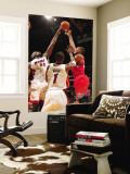 Philadelphia 76ers v Miami Heat: Marreese Speights and Joel Anthony Wall Mural by Victor Baldizon