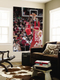 Chicago Bulls v Houston Rockets: Ronnie Brewer and Brad Miller Wall Mural by Bill Baptist