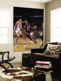 Los Angeles Lakers v Detroit Pistons: Kobe Bryant and Tayshaun Prince Wall Mural by Allen Einstein
