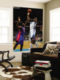 Detroit Pistons v New Orleans Hornets: Emeka Okafor and Jason Maxiell Wall Mural by Chris Unknown