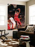 Chicago Bulls v Miami Heat - Game ThreeMiami, FL - MAY 22: Taj Gibson and Chris Bosh Wall Mural by Victor Baldizon
