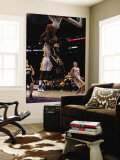 Indiana Pacers v Los Angeles Lakers: Danny Granger and Lamar Odom Wall Mural by Jeff Gross