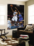 Dallas Mavericks v New Orleans Hornets: Willie Green and Shawn Marion Wall Mural by Chris Graythen