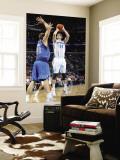 Dallas Mavericks v New Orleans Hornets: Jason Smith and Dirk Nowitzki Wall Mural by Layne Murdoch
