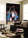 New Orleans Hornets v Philadelphia 76ers: Elton Brand and Emeka Okafor Wall Mural by David Dow