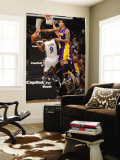 Los Angeles Lakers v Washington Wizards: Gilbert Arenas and Matt Barnes Wall Mural by Andrew Bernstein