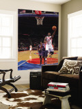 Atlanta Hawks v Detroit Pistons: Rodney Stuckey Wall Mural by Allen Einstein