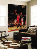Houston Rockets v Toronto Raptors: Luis Scola and Reggie Evans Wall Mural by Ron Turenne