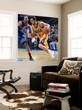 Oklahoma City Thunder v New Orleans Hornets: Marco Belinelli and Russell Westbrook Wall Mural by Layne Murdoch