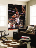 San Antonio Spurs v Los Angeles Clippers: Baron Davis and Tim Duncan Wall Mural by Noah Graham
