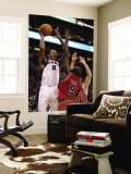 Chicago Bulls v Phoenix Suns: Channing Frye and Luol Deng Wall Mural by Christian Petersen