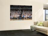 Oklahoma City Thunder v Memphis Grizzlies - Game Four, Memphis, TN - MAY 9: Greivis Vasquez and Rus Wall Mural by Joe Murphy