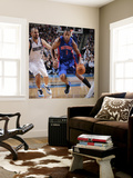 Detroit Pistons v Dallas Mavericks: Tracy McGrady and Jason Kidd Wall Mural by Glenn James