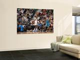 New Orleans Hornets v Utah Jazz: Paul Millsap and Jason Smith Wall Mural by Melissa Majchrzak