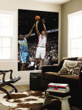 New Orleans Hornets v Detroit Pistons: Charlie Villanueva and Quincy Pondexter Wall Mural by Allen Einstein