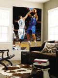 Dallas Mavericks v New Orleans Hornets: Dirk Nowitzki and Jason Smith Wall Mural by Chris Graythen