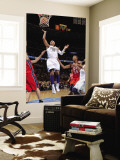 New Jersey Nets v Denver Nuggets: Carmelo Anthony and Derrick Favors Wall Mural by Garrett Ellwood