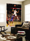 Detroit Pistons v Miami Heat: Eddie House and Ben Gordon Wall Mural by Issac Baldizon