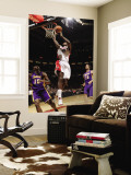 Los Angeles Lakers v Toronto Raptors: Amir Johnson, Ron Artes and Pau Gasol Wall Mural by Ron Turenne