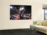 Miami Heat v Philadelphia 76ers - Game Four, Philadelphia, PA - April 24: LeBron James Wall Mural