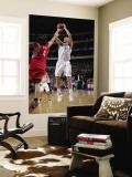 Houston Rockets v Dallas Mavericks: Dirk Nowitzki and Luis Scola Wall Mural by Glenn James