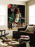 Boston Celtics v Charlotte Bobcats: Glen Davis and Shaun Livingston Wall Mural by Kent Smith
