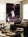 Charlotte Bobcats v Philadelphia 76ers: Thaddeus Young Wall Mural by David Dow