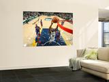 Detroit Pistons v Memphis Grizzlies: Darrell Arthur, Charlie Villanueva, Tracy McGrady and Greg Mon Wall Mural by Joe Murphy