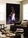 New York Knicks v Detroit Pistons: Richard Hamilton and Amar'e Stoudemire Wall Mural by Allen Einstein