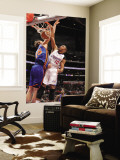 New York Knicks v Los Angeles Clippers: Eric Gordon and Timofey Mozgov Wall Mural by Noah Graham